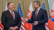 US State Secretary discusses security during visit to Slovakia