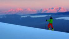 Zimná turistika v Levočských vrchoch