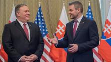 Словакию посетил Майк Помпео