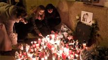 Commémoration du 1er anniversaire du double assassinat de J.Kuciak et M. Kušnírová
