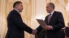 Neuer Gouverneur der Nationalbank offiziell ernannt