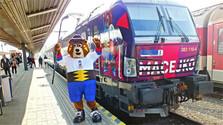 El tren Macejko transportará a los hinchas del Campeonato Mundial de Hockey sobre Hielo 2019
