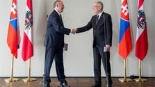 Le président slovaque en Autriche