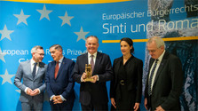 Prix européen des droits civiques des Sintis et des Roms pour M.A.Kiska