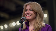 Slovakia has its first woman president
