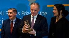 Europäischer Bürgerrechtspreis der Sinti und Roma für Kiska