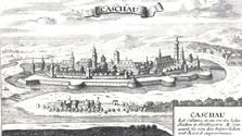 Historischer Augsburger Kupferstich von Košice gefunden
