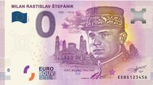 Des billets exceptionnels émis à l'effigie de M. R. Stefanik
