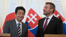 Na Slovensko pricestoval  predseda vlády Japonska
