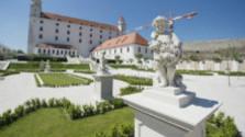 Baroková záhrada na Bratislavskom hrade
