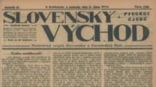 100 rokov denníka Slovenský Východ