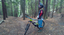 Na bicykli v Hradskej hore nad Liptovským Hrádkom