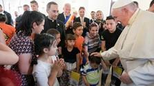 Ferenc pápa áldása romákra, románokra és magyarokra