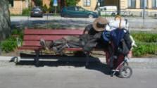 Ťažký život bezdomovcov