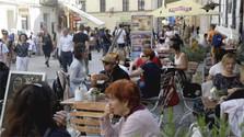 Les touristes choisissent Bratislava pour sa situation géographique