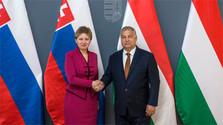 Встреча З. Чапутовой и В. Орбана