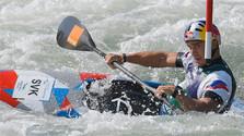 Juniorské zlato vo vodnom slalome