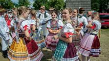 Праздник словацкого фольклора в Детве