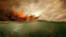Pirátske lode, vraky atajomné ostrovy