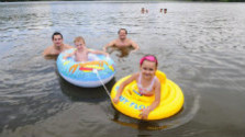 V odraze vody: Kúpalisko Margita Ilona v Leviciach