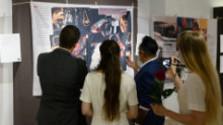 Výstava Genocída Rómov v Múzeu holokaustu v Seredi