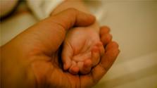 Pflegende Hände für verlassene Babys