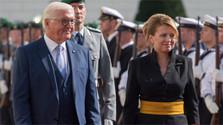 Präsidentin Čaputová in Berlin: Freiheit keine Selbstverständlichkeit