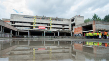 Demolition of hospital skeleton started