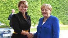 Fin de la visite de la Présidente slovaque en Allemagne
