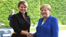Čaputovás Besuch in Deutschland setzt fort