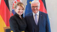 Präsidentin Čaputová zu Besuch in Deutschland