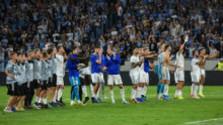 Po futbale Slovan-PAOK