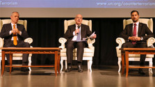 Госсекретарь МИДа Л. Паризек на антитеррористической Конференции ООН в Минске