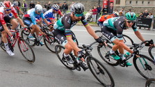 L'élite cycliste réunie au Canada
