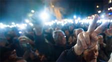 """""""Por una Eslovaquia decente"""" convoca para hoy una nueva ola de manifestaciones"""