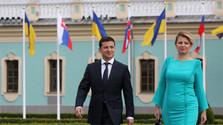 Prezidentka na Ukrajine