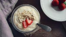 Sladká dobrota z bieleho jogurtu