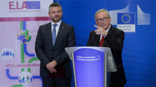 Premier Pellegrini in Brüssel