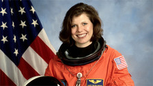 An American astronaut in Bratislava talks about her space missions
