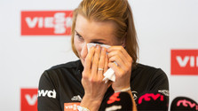 Anastasiya Kuzmina ha terminado oficialmente su carrera profesional