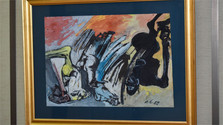 Las cien obras de Vincent Hložník expuestas en la Radio Eslovaca