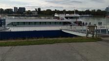 Harmónia - nuevo barco sobre el río Danubio