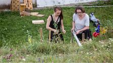 Alle Wege führen nach Dubravica: Die Künstlerin Micha Bardy
