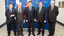 Лайчак принял сопредседателей Минской группы ОБСЕ