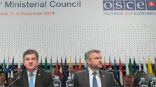 Pellegrini inaugura la 26ª reunión del Consejo Ministerial de la OSCE