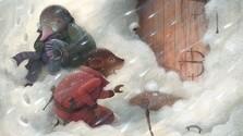 Týždeň víchric a snehu