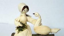 Šúpolie a jeho spracovanie na bábiky - šúpolienky
