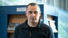 Oleg Sencov está de visita a Bratislava