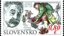 La Oficina de Correos Eslovaca emite un sello con el retrato de Vincent Hložník