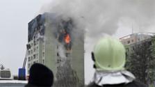 Explota tubería de gas en Prešov